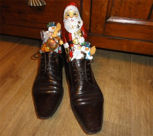 Nikolaus shoes with sweeties