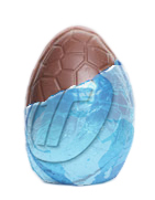Unwrapped Easter egg