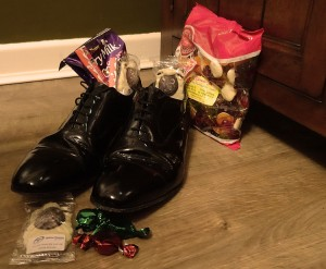 Clean shoes for St Nikolaus